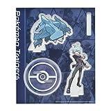 ポケモンセンターオリジナル アクリルスタンドキーホルダー Pokémon Trainers ダイゴ&メタグロス