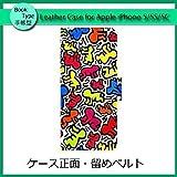 iPhone6s iPhone6 手帳型レザーケース ジャケット カバー イラスト スマホアクセサリー アイフォン 097