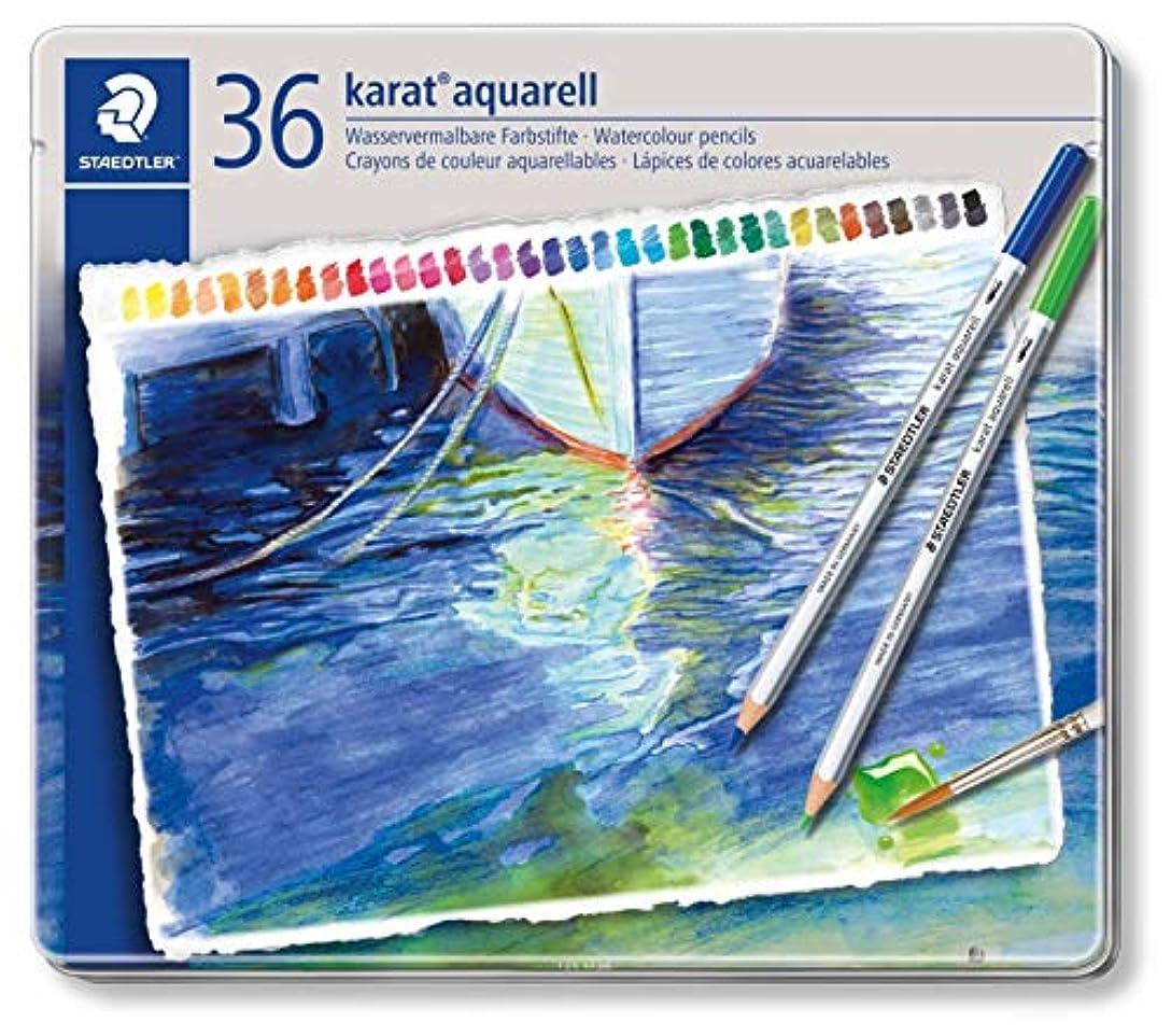 国民投票ファイナンスペグステッドラー 色鉛筆 カラトアクェレル 水彩色鉛筆 36色 125 M36