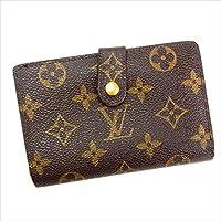ルイヴィトン Louis Vuitton がま口財布 二つ折り ユニセックス ポルトモネ ビエヴィエノワ M61663 モノグラム 中古 Y144