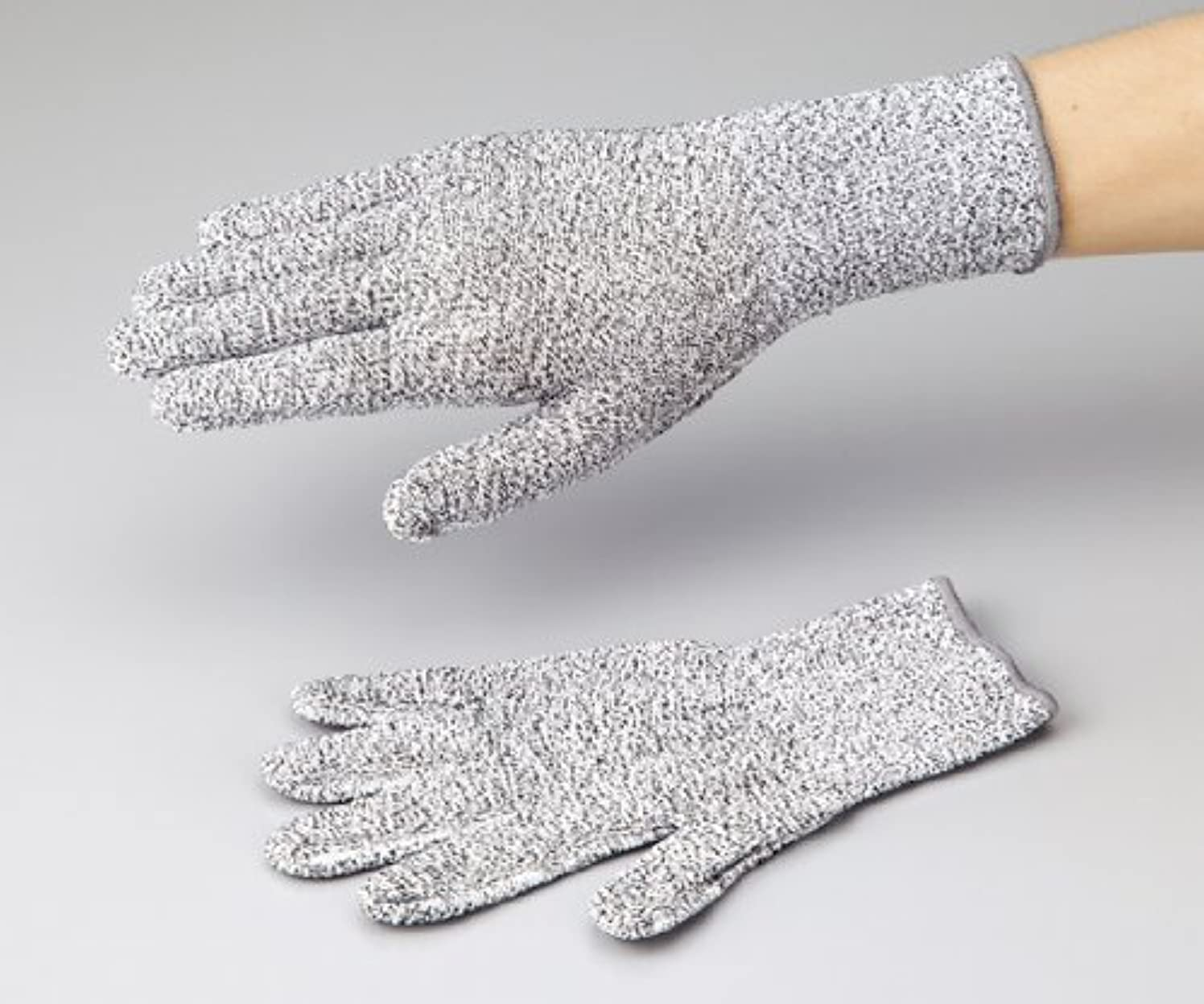 ハミングバード咳回転させるアズワン1-272-01アズセーフ耐切創手袋コーティング無しLカットレベル3