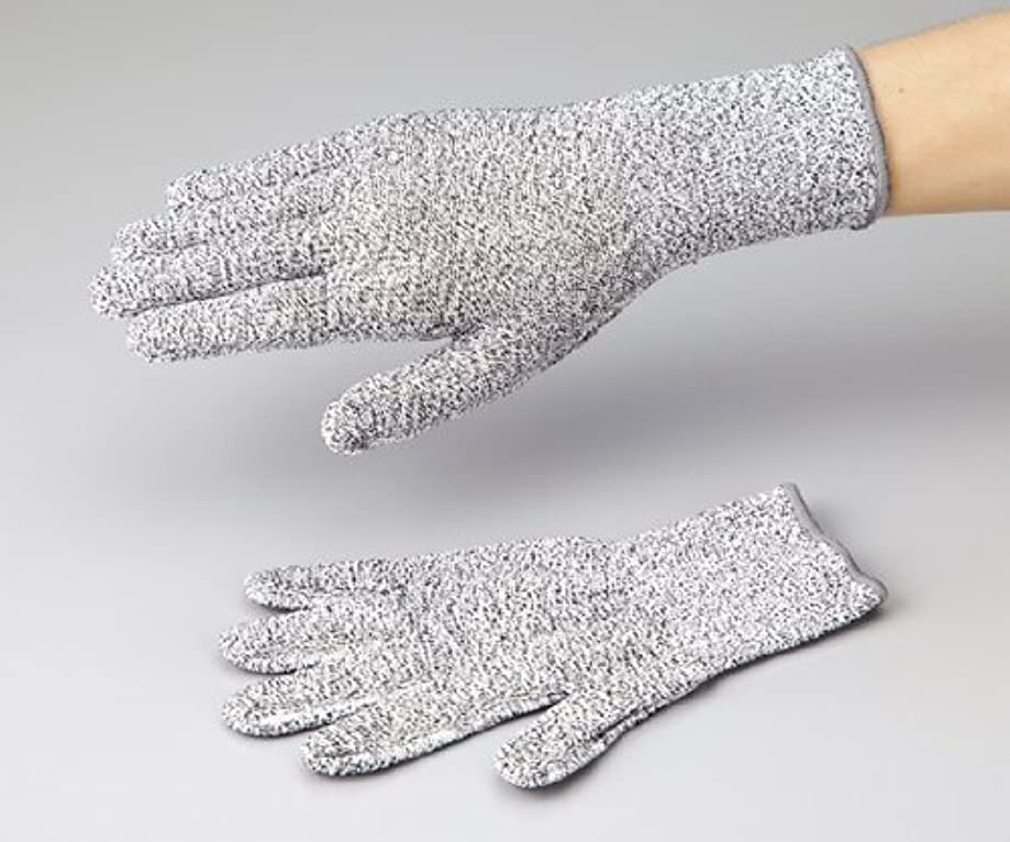 キノコ確かめるフィードオンアズワン1-272-01アズセーフ耐切創手袋コーティング無しLカットレベル3