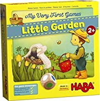 HABA My Very First Games Little Garden - Cooperative Board Game for Ages 2 + (Made in Germany) [並行輸入品]