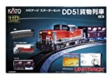 HOゲージ 3-001 スターターセット DD51貨物列車