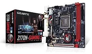 GIGABYTE  Intel Z170チップセット搭載 Mini-ITX ゲーミングマザーボードGA-Z170N-Gaming 5