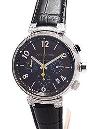 [ルイヴィトン]LOUIS VUITTON 腕時計 タンブールクロノグラフGM Q112G メンズ 中古 [並行輸入品]