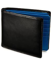 [レガーレ] 隠しポケット付き 本革 二つ折り財布 カードたくさん入る 5色 プレゼント ギフト