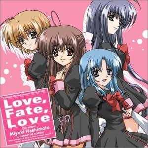 TVアニメ『Φなる・あぷろーち』ボーカルアルバム Love,Fate,Love