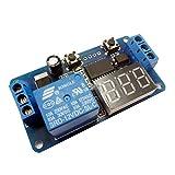 ラブ LED DC 12 v ホーム オートメーション遅延タイマー制御スイッチ リレー モジュール デジタル表示