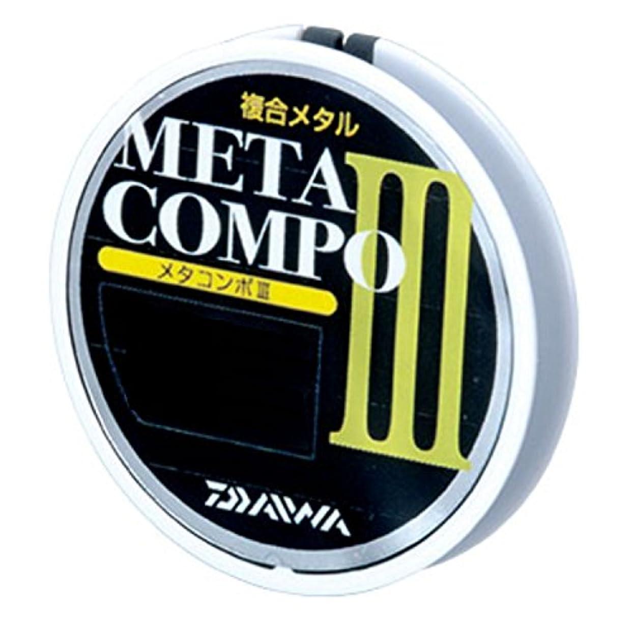 作成する違反肩をすくめるダイワ(Daiwa) メタルライン メタコンポIII 12m+1m 0.2号 ブラック