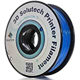 3D Solutech Real Blue 3D Printer PLA Filament 1.75MM Filament Dimensional Accuracy +/- 0.03 mm 2.2 lbs (1.0KG) - 100% USA