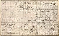 状態Atlas | 1874のカウンティCottonwood、Murray、Pipestone、ジャクソン、Nobles and Rock , Minn。| Historicアンティークヴィンテージマップ再印刷 24in x 38in 565667_2438