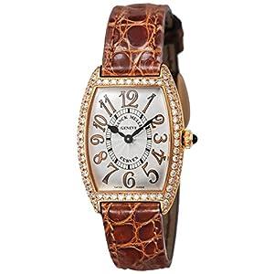 [フランクミュラー]FRANCK MULLER 腕時計 トノウカーベックス シルバー文字盤 ダイヤモンド 1752QZRELD SLV BRW B レディース 【並行輸入品】
