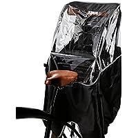 自転車 レインカバー 子供乗せ自転車 チャイルドシートレインカバー 後ろ 撥水加工 雨除け 寒さ対策 風防 収納バッグ付