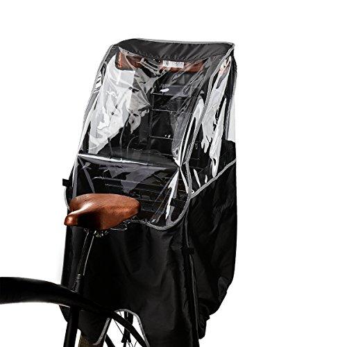 自転車チャイルドシート用レインカバー 子供乗せ用レインカバー 後ろ 雨除け 寒さ対策 風防