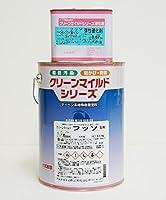 弾性クリーンマイルドフッソ 4.27kgセット 淡彩色 SR-427【メーカー直送便/代引不可】エスケー化研 外壁 塗料