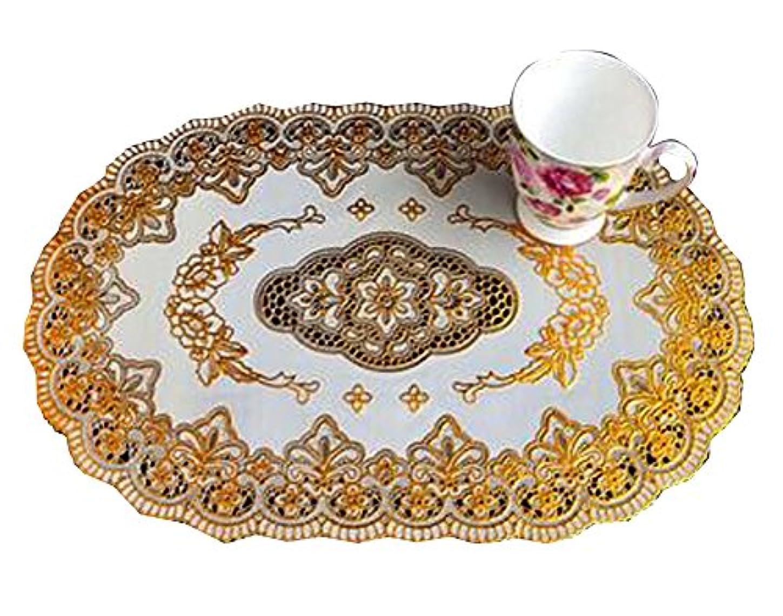 取り組む犠牲ベンチャーファッションスタイルヨーロッパの銅ブロンズコースター灰皿パッド
