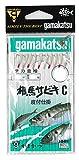 がまかつ(Gamakatsu) 3H 相馬サビキ C型 S108 5号-ハリス1
