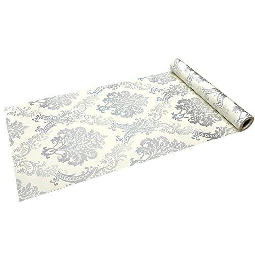Takarafune 壁紙 はがせるDIY壁紙シール 花柄 ウォールステッカー インテリア 防水シール 45cm×10m