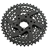 SunRace CSM680 Wide Ratio Cassette 11-40T, 8 Speed, Black #ST1454 画像