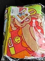 アンパンマン ブランケット キャラクター 毛布 ひざ掛け 大判 BIG バンダイ 100cm 全2種 ふち 黄色