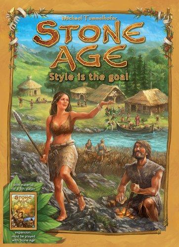 ストーンエイジ (Stone Age: Style is the Goal) ボードゲーム