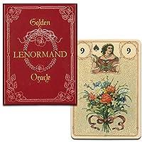 【ゴールドの装飾が美しい古典的なルノルマンカード】ゴールデン・ルノルマン・オラクル