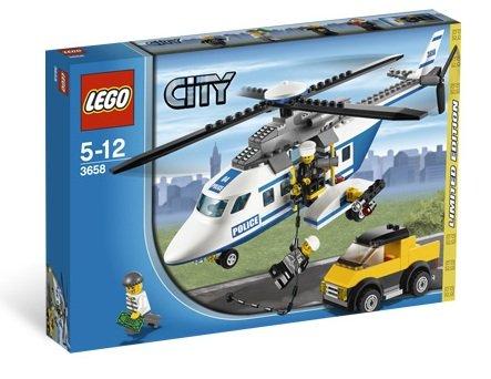 レゴ シティポリスヘリコプターの追跡 リミティッドエディッション 3658 日本未発売