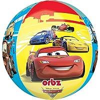 Anagram International Cars Orbz Balloonパック、16インチ、マルチカラー