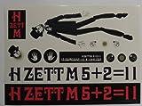 H ZETT M ピアノイズステッカー