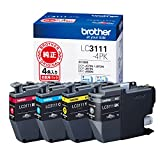 Best BROTHERインクプリンタ - brother インクカートリッジ お徳用4色パック LC3111-4PK Review