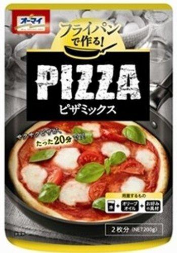 オーマイ フライパンで作る ピザミックス 袋200g