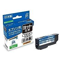 ジット エプソン(EPSON) ヨット 対応 ブラック 日本製リサイクル インクカートリッジ YTH-BK 対応 JIT-EYTHB