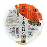 結わえる 寝かせ玄米ごはん 小豆ブレンド(180g×12個セット)寝かせ玄米 レトルトパック 玄米