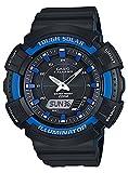 [カシオ]CASIO ソーラー SPORTS ANA-DIGI スポーツ アナデジ AD-S800WH-2A2 腕時計 ブラック ブルー [並行輸入品]