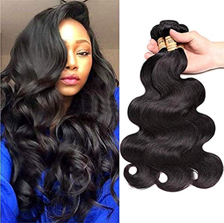 縁石メロドラマ満たす閉鎖とブラジルの実体波の束を編む女性の髪閉鎖人間の髪の毛の束とブラジルの髪の束