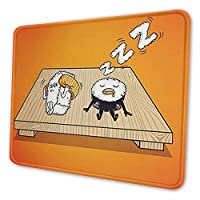 マウスパッド おもしろ寿司 デスクマット 大型ゲーミングマウスパ 防水 滑り止め耐久性が良オフィス/サイバーカフェなど適用