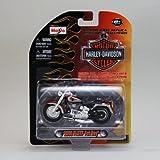 Maisto 1/24 Harley Davidson 2000 FLSTF Fat Boy マイスト/ファットボーイ/1:24/赤/レッド/Red/