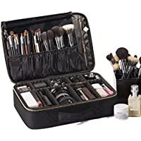 ROWNYEON Cosmetic Bag Makeup Artist Makeup Train Case Portable EVA Makeup Organizer Case
