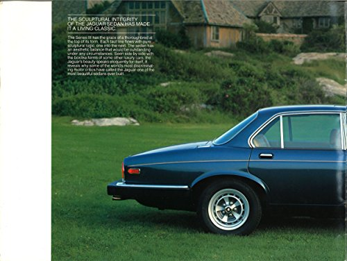 Jaguar XJ6 Serie 3 - Commercial brochure (English Edition)