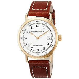 [ハミルトン]HAMILTON 腕時計 カーキ ネイビー パイオニア オート H78205553 【正規輸入品】