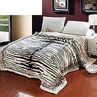 ダブル 厚い 毛布, 元に戻せる状態 Hypoallergenicraschel 毛布をベッド, 耐フェード ・縮小されません, 柔らかい 滑らかです 通気性-I 180*220cm