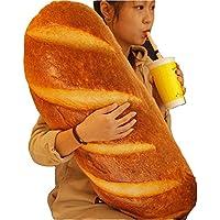 パン抱き枕 リアルぬいぐるみ ふわふわ柔らかい おいしそうな枕 2サイズ選択可 (100CM, バターパン)