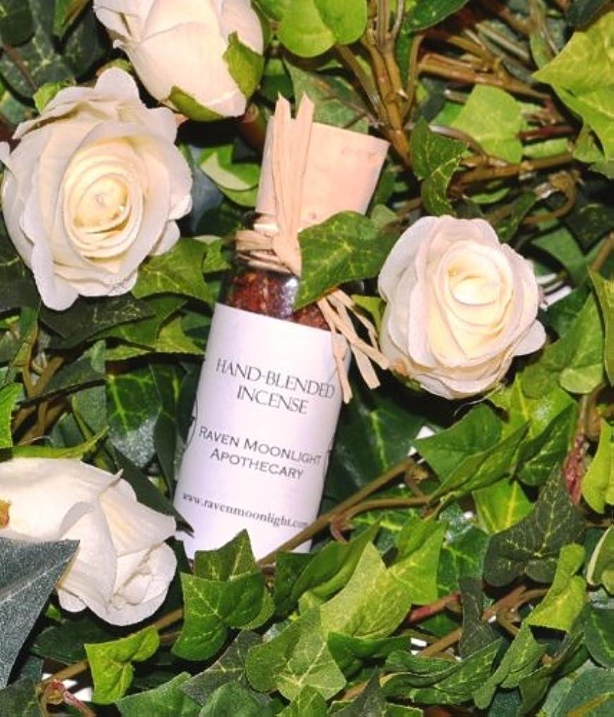 有能な冷えるガラスhand-blended Herbal Incense : Saraswati Goddessブレンド