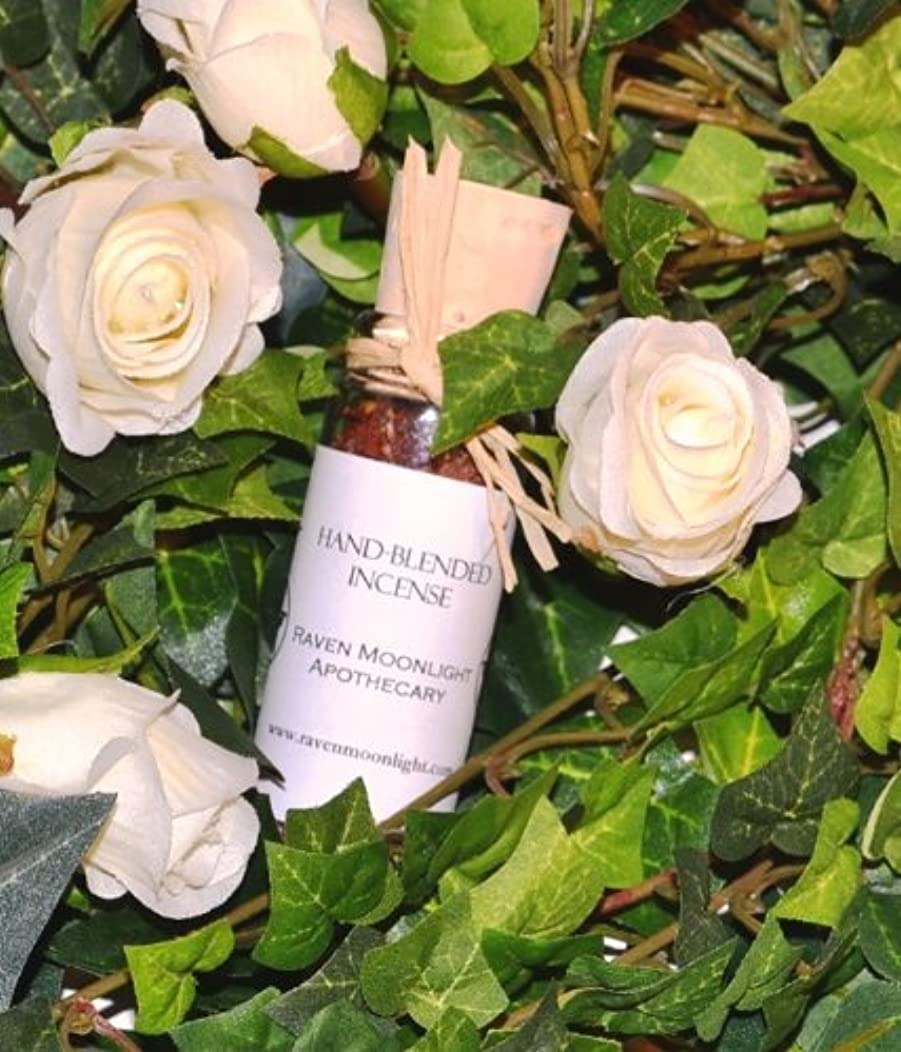 に対して民主主義振りかけるhand-blended Herbal Incense : Saraswati Goddessブレンド