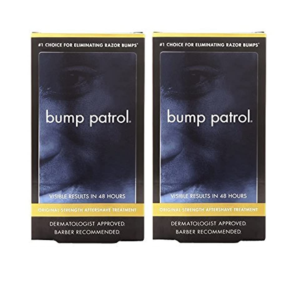 延ばすサーバ真似るBump Patrol Dermatologist Approved Original Strength Aftershave Treatment (2 oz) 2 Pack [並行輸入品]