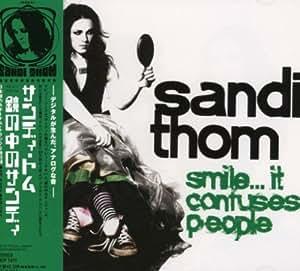 鏡の中のサンディ~smile...it confuses people