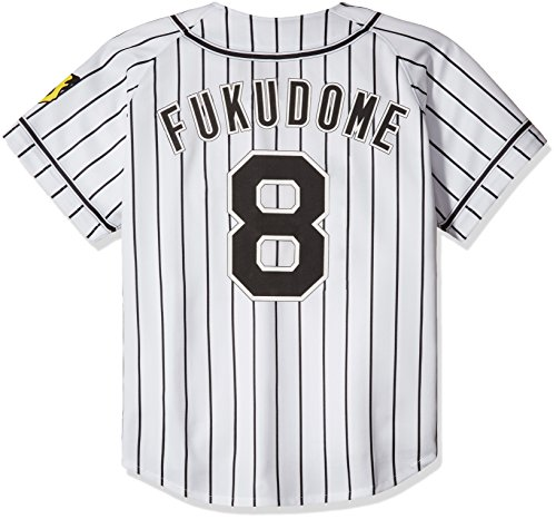 MIZUNO(ミズノ) プリントユニフォーム 8)福留 ホーム 阪神タイガース 12JRMT4108L ホワイト L