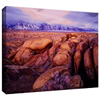 ArtWall Dean Uhlinger 「Sierra Dawn Storm Light」ギャラリー‐布キャンバスアートワーク 14x18 0uhl064a1418w