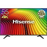 ハイセンス Hisense 55V型 4K対応液晶テレビ  -外付けHDD録画対応(裏番組録画)/メーカー3年保証- 55A6100